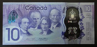 Bank Of Canada Canadian 150th Anniversary  $10 Polymer Unc Beautiful Bill
