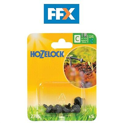 Hozelock 2785P0000 End Line Pressure Dripper 4mm - 13mm 5 Pack
