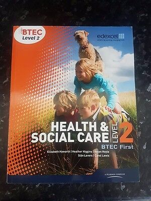 Health and Social Care level 3 BTEC, Books 1 And 2