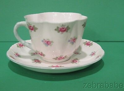 Shelley Rosebud Cup & Saucer  13426