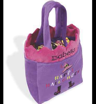 "NEW Girls Halloween Trick or Treat Bag MSRP 24.99  ""SOFT"""