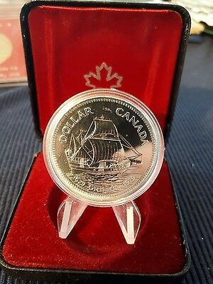 1979 CANADA  SPECIMEN COMMEMORATIVE SILVER DOLLAR GRIFFON in case of Issued