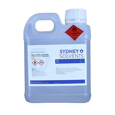 IsoPropyl Alcohol 100% Rubbing Alcohol All Purpose Cleaner 1 Litre