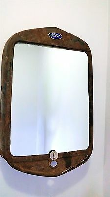 Rustic Automotive (Ford) Wall Mirror