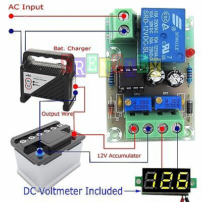 XH-M601 Battery Charging Control Board 12V Intelligent Charger Power Supply