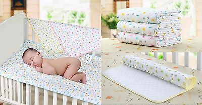 HOT Baby Kid Waterproof Bedding Diapering Sheet Protector Menstrual pad S6