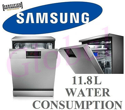 Samsung Dishwasher 13 place settings Angles Racking System DW-FG520S *RFB*