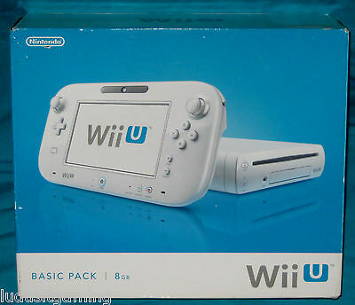 8GB Wii U Basic Pack BOX ONLY - Replacement Empty Box