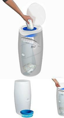 New Baby Nappy Disposal System Single Packaging Hygienic Diaper Bin UK Fast