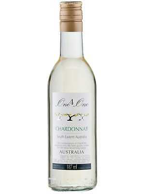 Australian Chardonnay White Wine Quarter Bottles - 24x187ml