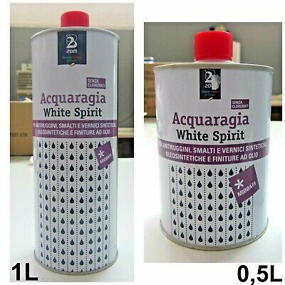 2BM acquaragia white spirit x antiruggini smalti e vernici 1 L professionale new