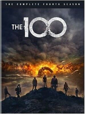 The 100 Complete Season 4 Series Four Fourth New DVD Region 4