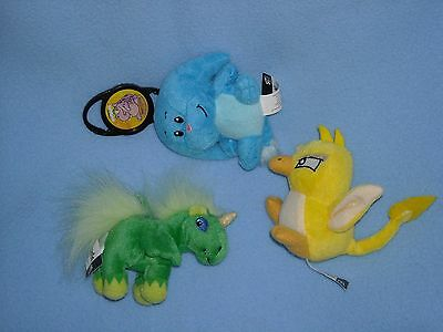 3 NEOPETS McDONALDS STUFFED ANIMAL PLUSH TOY