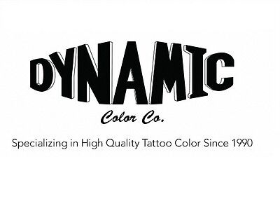 DYNAMIC Ink Tattoofarbe Tattoo Farbe Tinte Color Tätowierfarbe Ink