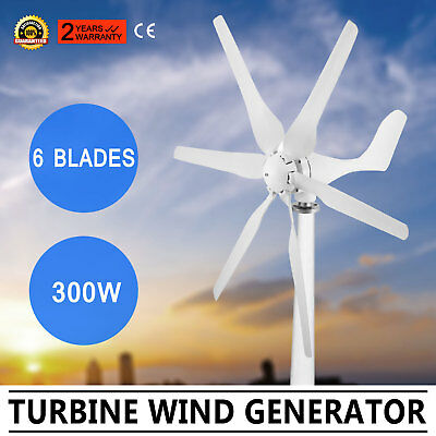 Wind Turbine Generator 300W Dc12V Green Windmill Powerful Large Power Wholesale