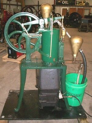 """5"""" Rider Ericsson Hot Air Pumping Engine Sterling Cycle Heat"""