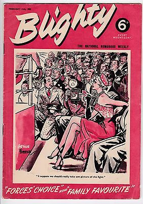 BLIGHTY Magazine: The National Humorous Weekly 11 February 1950