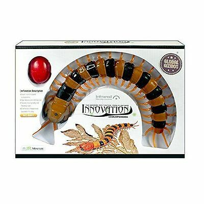 """Global Gizmos """"Battery Operated Infrared Remote Control Centipede Insect""""- 54640"""