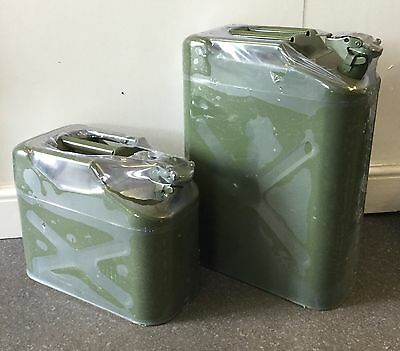 10L - Jerry Can - Petrol/deisel Fuel Can Army Green
