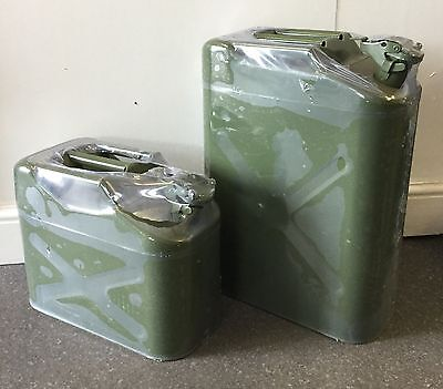 20L - Jerry Can - Petrol/Deisel Fuel Can - Army Green