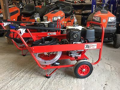New 13HP Honda Petrol Pressure Washer 200 Bar 3000PSI 21LTRS/MIN With 2:1Gearbox
