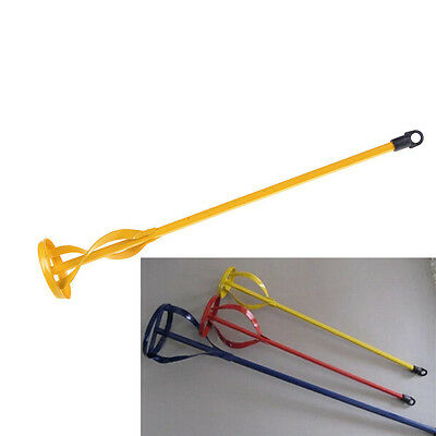 New Drill Paint Pot Plaster Mixer Stirrer Mix Paddle DIY Whisk Hex Shank Tool WL