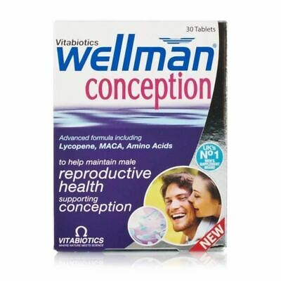Wellman Conception 30 Tablets 1 2 3 6 12 Packs