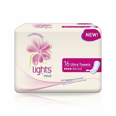Tena Lights Ultra Towel 16 Pack 1 2 3 6 12 Packs