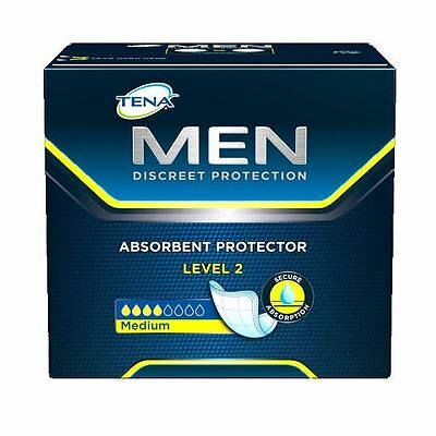 Tena for Men Level 2 Box of 10 1 2 3 6 12 Packs