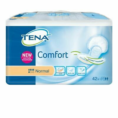 Tena Comfort Normal 42 1 2 3 6 12 Packs