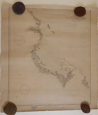 Northwest Costa Rica, Nicoya peninsula - US Navy, 1887