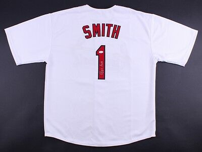 Ozzie Smith Signed Cardinals Jersey (JSA COA) 15x All Star 13x Gold Glove  Award 215bb9196