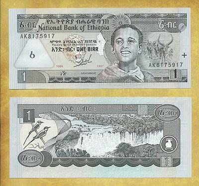 Ethiopia 1 Birr 1997 P-46a Unc Currency Note ***USA SELLER***