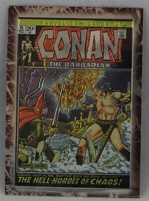 Marvel Comics Group: Conan the Barbarian Trading Card #15 Conan The Marvel Years