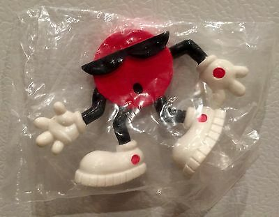 Vintage 1988 7-up Collectible Red Dot Guy  Rare NEW Sealed!