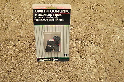 Smith Corona 2-Cover-Up Tapes For Smith Corona H Series H21055/H59055