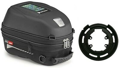 Sprint GT 1050 Year from 10 Tank Bag Set GIVI ST603 for Triumph Bikes Black