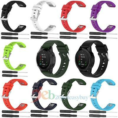 Soft Silicone Watchband Replacement for Garmin Fenix 5/935 Fitness Tracker
