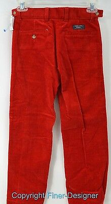 POLO by RALPH LAUREN BOYS wide whale CORDUROY PANTS trousers slacks Size 8 NWT