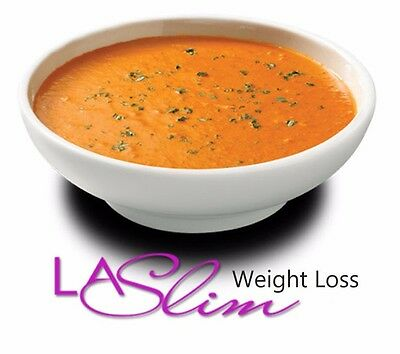VLCD LA Slim TASTY TOMATO SKINNY SOUP MEAL REPLACEMENT WEIGHT LOSS, FREE P&P