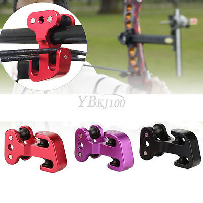 Aluminium Alloy Archery Compound Bow Cable Slide String Splitter Roller Tool ES