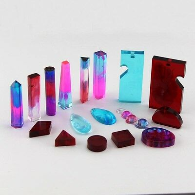 DIY Silicone Pendant Mold Making Jewelry For Resin Necklace Mould Craft Tool UK