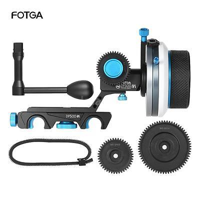 FOTGA DP500Ⅲ Quick Release AB Hard Stop Follow Focus Speed Crank Camera Rig W1J2
