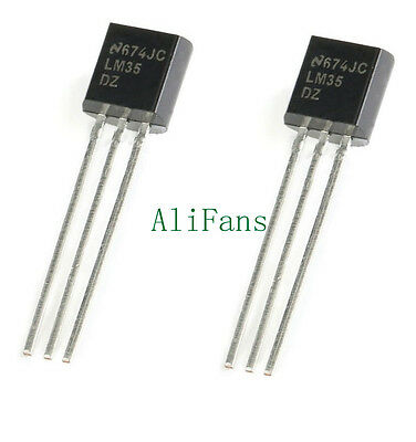 5 PCS LM35DZ LM35 TO-92 NSC TEMPERATURE SENSOR IC Inductor NEW AU