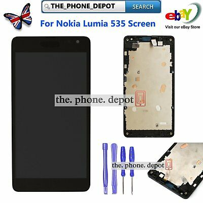 For Nokia Lumia 535 N535 CT2S1973FPC LCD Touch Screen Digitizer Display Assembly