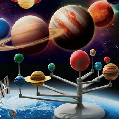 NEW Educational Science Motorized Solar System Earth Planets Astronomy Sun Model