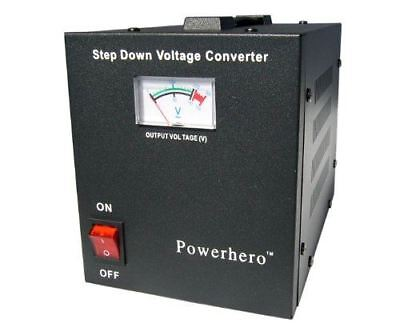 Power Hero 1000VA 700 Watt Step Down Voltage Transformer Use USA Items in the UK