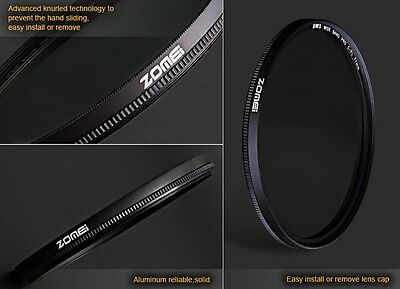 ZOMEi® 62mm Slim CPL Circular Polarizing Polarizer filter