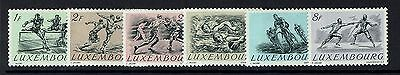 Luxembourg SC# 280 - 285 - Mint Hinged - Lot 071916