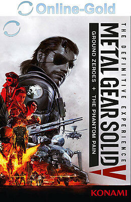 METAL GEAR SOLID V The Definitive Experience - STEAM PC Key Code MGS 5 NEU DE/EU